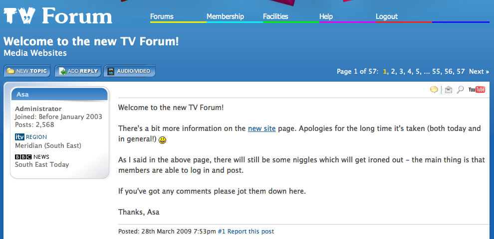 Welcome To The New Tv Forum Page 57