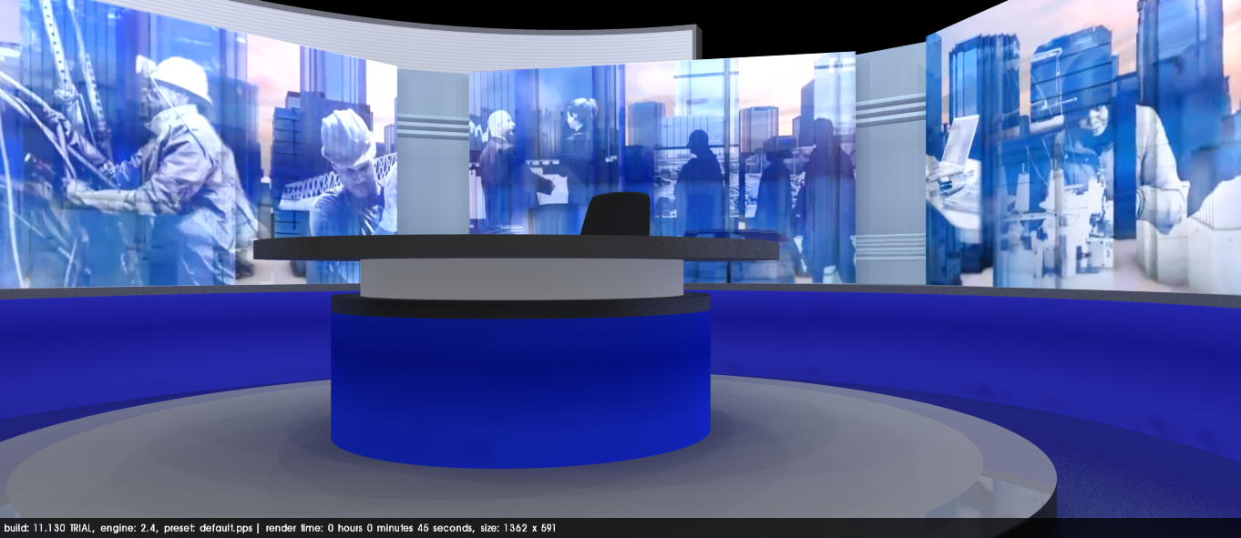 Bbc News Update: The Big BBC News Studio Refresh Mock Thread: I'm