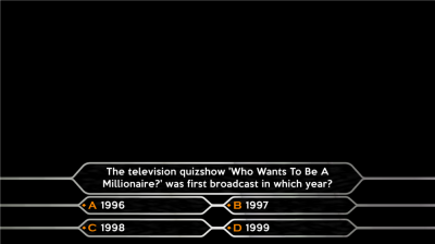 who wants to be a millionaire? - tv forum, Powerpoint templates
