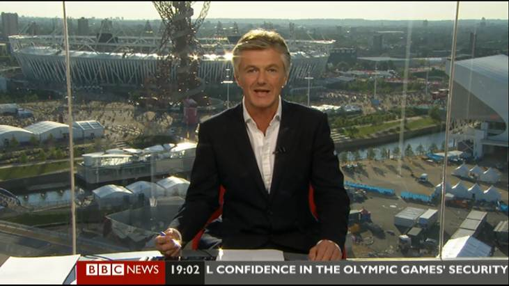 British journalist Tim Willcox at BBC News