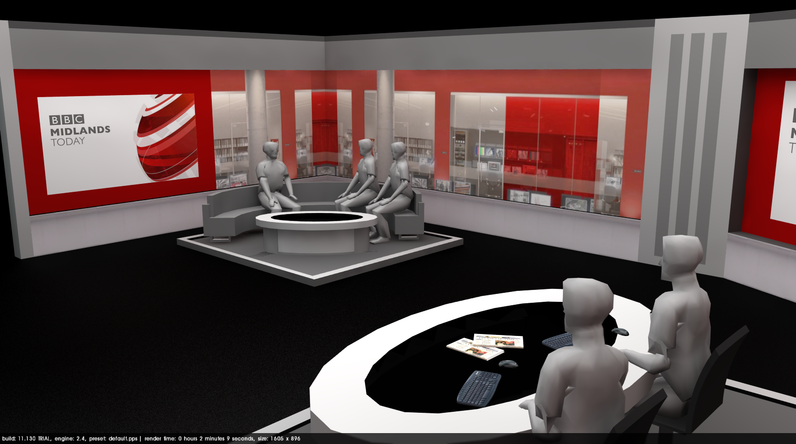 BBC Midlands Today New Studio Set Possible Idea TV Forum