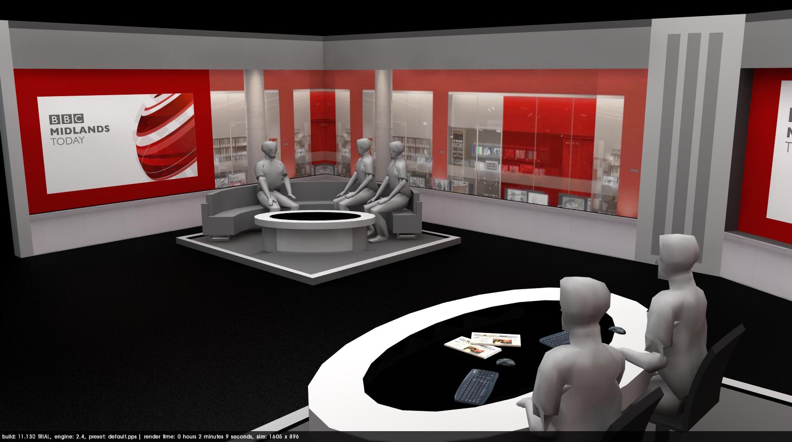 BBC Midlands Today New Studio Set Possible Idea TV Forum